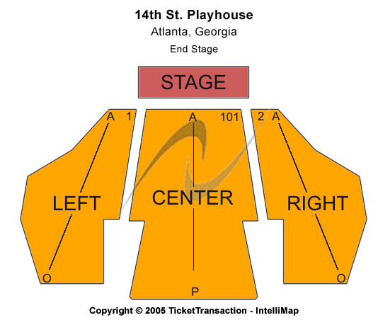 14th Street Playhouse Seating Chart