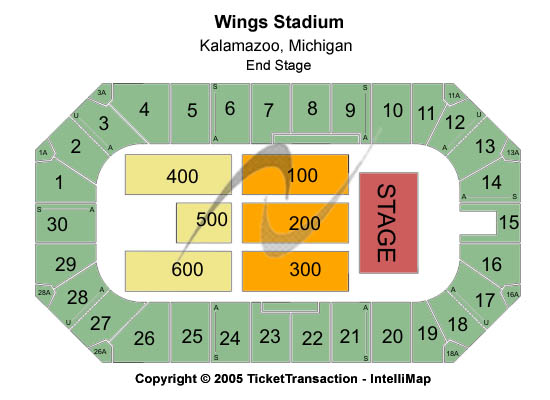 Wings Event Center Seating Chart