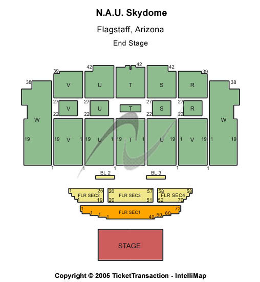 Walkup Skydome Seating Chart