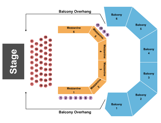 ACL Live At The Moody Theater Seating Chart