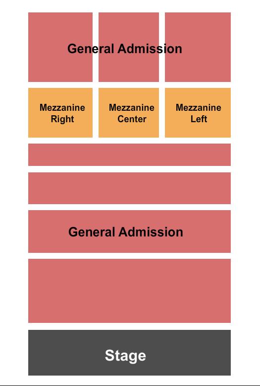 Agora Theatre Seating Chart