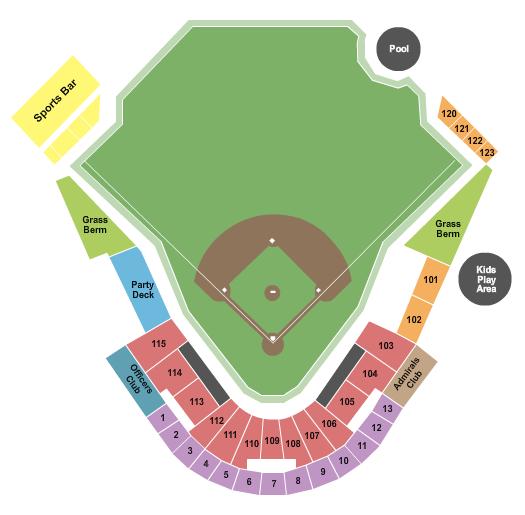 AirHogs Stadium Seating Chart