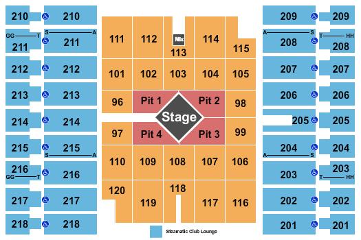 Alerus Center Seating Chart