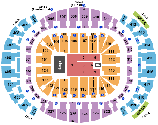 FTX Arena Seating Chart