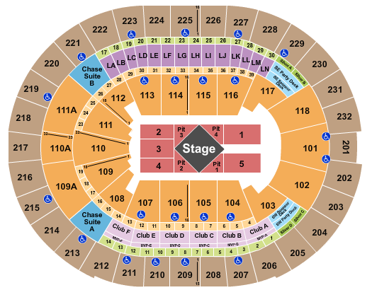 Amway Center Seating Chart