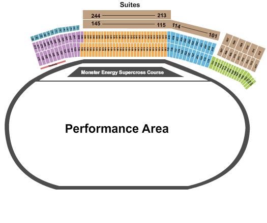 Atlanta Motor Speedway Seating Chart: Supercross