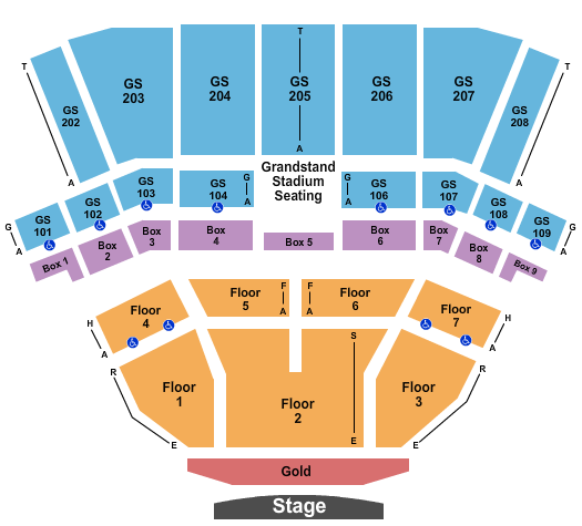 BECU Live at Northern Quest Resort & Casino Seating Chart