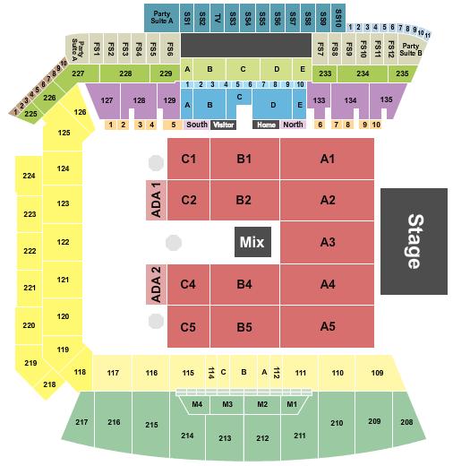 Banc of California Stadium Seating Chart