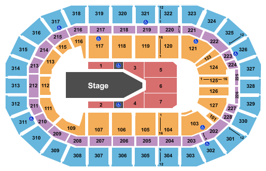 The Weeknd Tickets Seating Charts