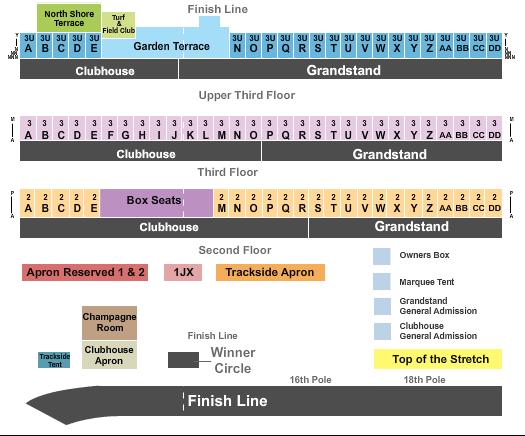 Belmont Park Raceway Seating Chart