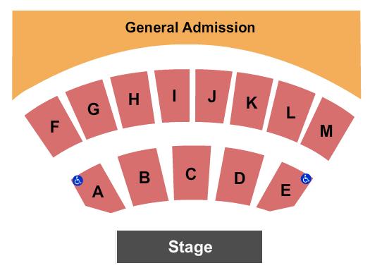 Black Oak Amphitheater Seating Chart