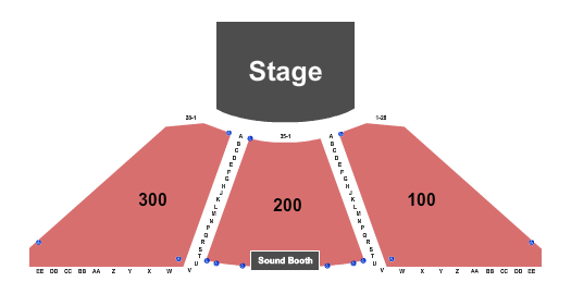 Blue Gate Performing Arts Center Seating Chart