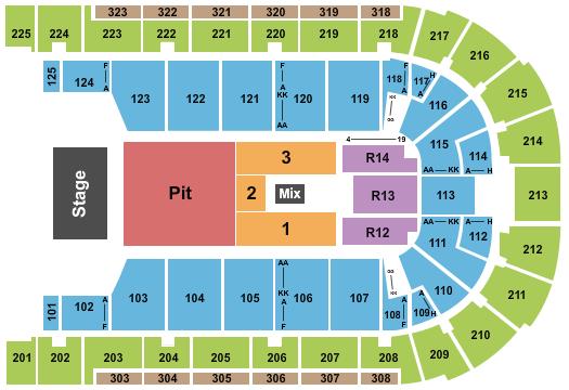 Boardwalk Hall Arena Seating Chart