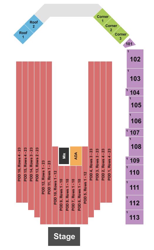 Breese Stevens Field Seating Chart