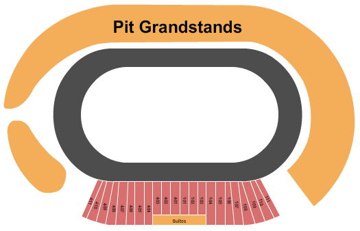 The Dirt Track at Charlotte Motor Speedway Seating Chart