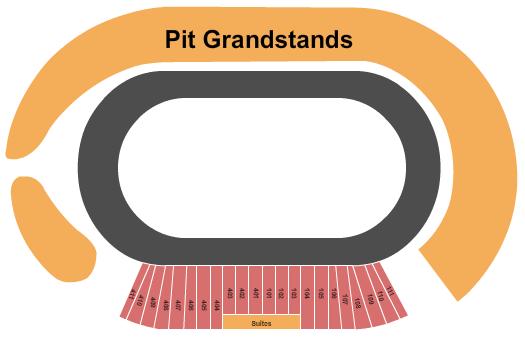 Charlotte Motor Speedway Seating Chart