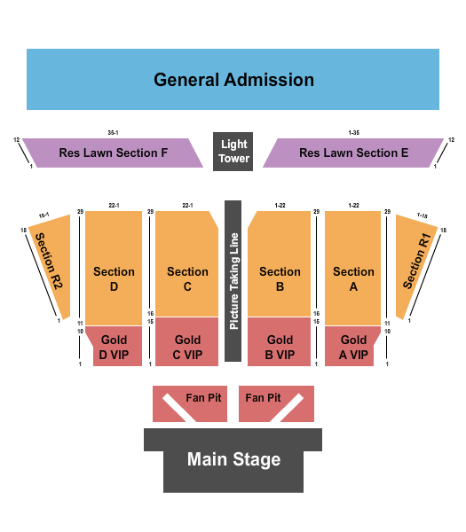 Chippewa Valley Festival Grounds Seating Chart