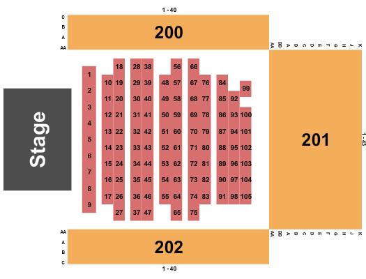 Coca Seating Chart