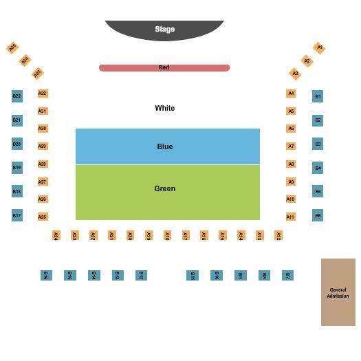 Cowboys Dance Hall Seating Chart