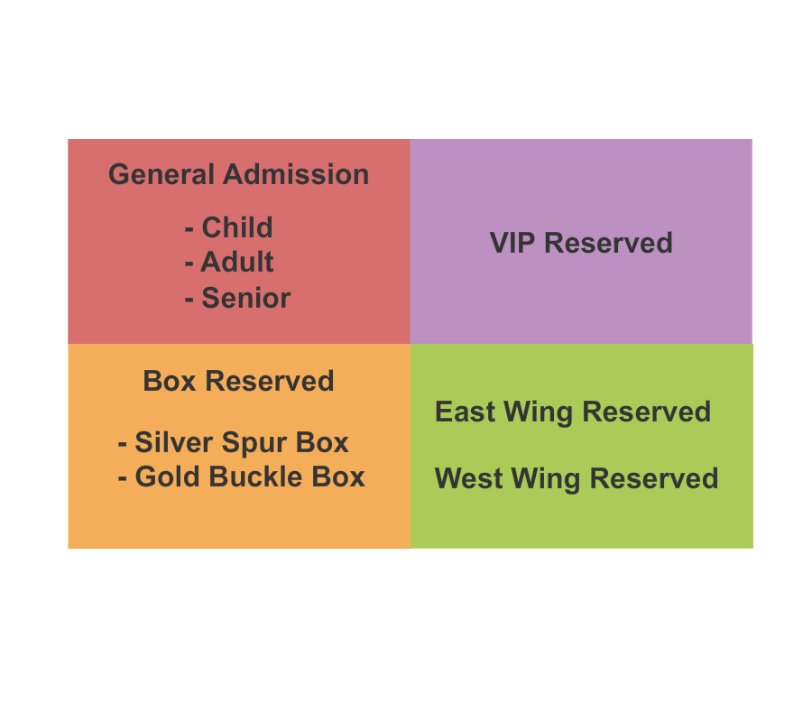 Cowtown Coliseum Seating Chart