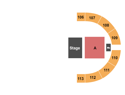 Crossroads Arena Seating Chart