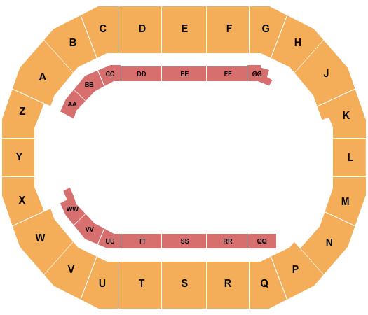 Days of 47 Arena at Utah State Fair Park Seating Chart