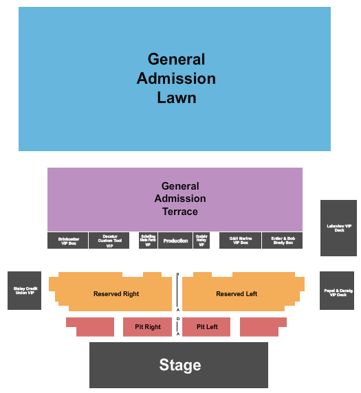 Devon Lakeshore Amphitheater Seating Chart