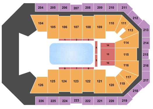 Dickies Arena Seating Chart