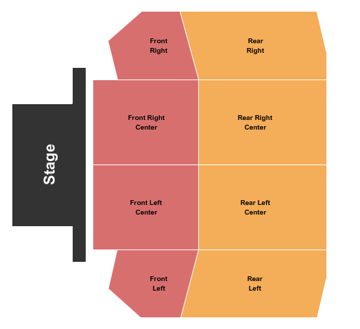 DoubleTree by Hilton Seating Chart
