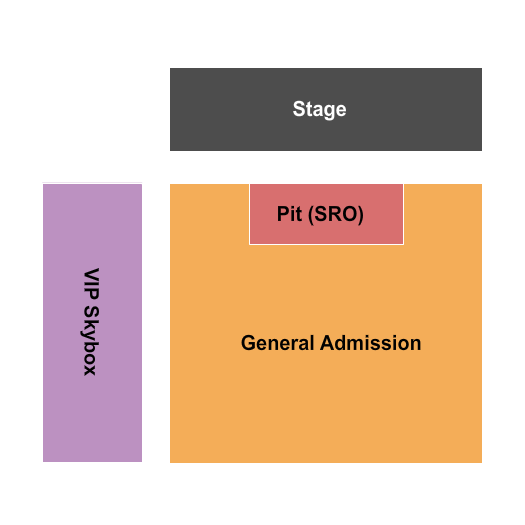 Dr. Pepper Park Seating Chart: GA & Pit