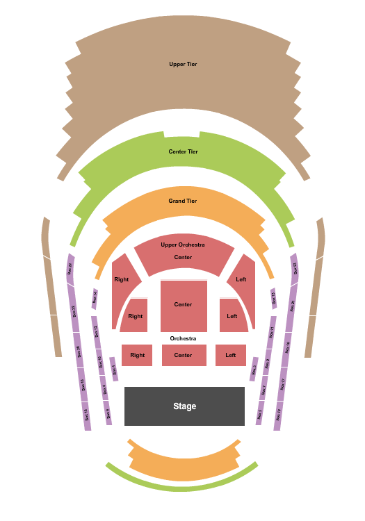 Dr. Phillips Center Seating Chart