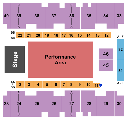 El Paso County Coliseum Seating Chart: Pepe Aguilar