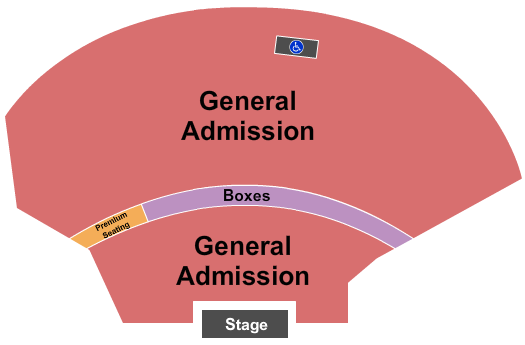 EXPRESS LIVE! Seating Chart