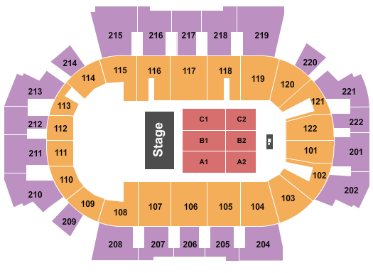 Family Arena Seating Chart