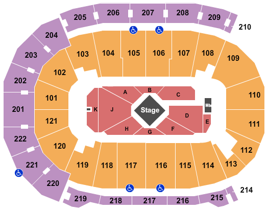 Ford Center - IN Seating Chart: George Strait