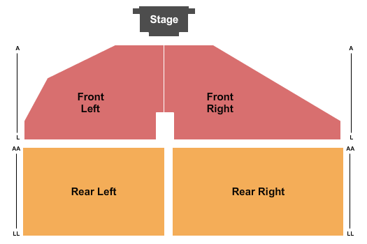 Freeman Arts Pavilion Seating Chart