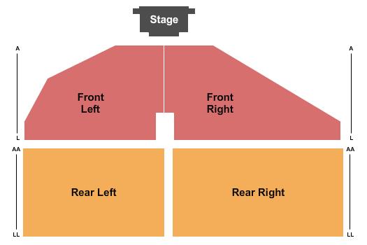 Freeman Arts Pavilion Seating Chart