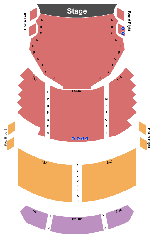 Fulton Opera House Seating Chart