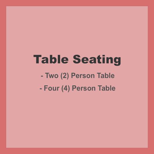 Funny Bone Comedy Club - Omaha Seating Chart: Table Seating - Static