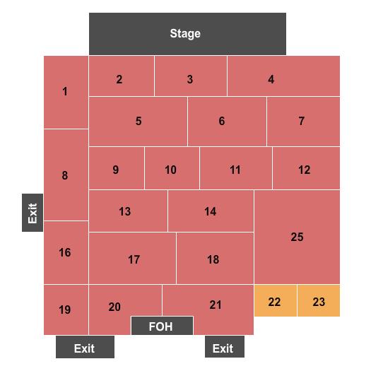 Grey Eagle Seating Chart
