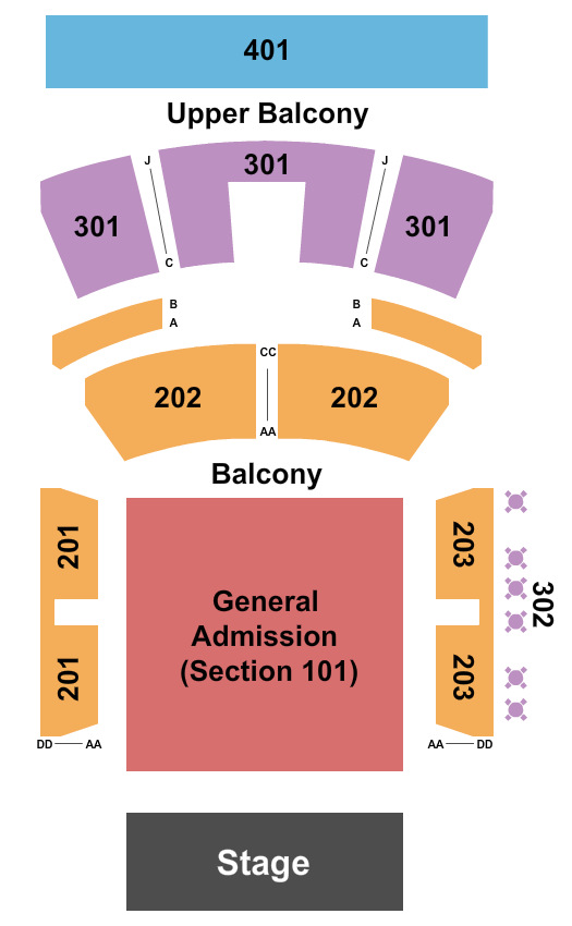 Hard Rock Live - Mississippi Seating Chart: Aaron Lewis