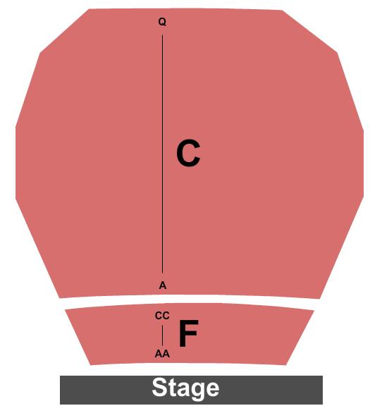 Harold Shenkman Hall Seating Chart