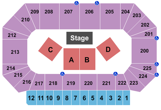 Heartland Events Center Seating Chart
