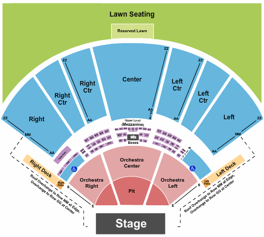 Hollywood Casino Amphitheatre - MO Seating Chart: Endstage GA Pit