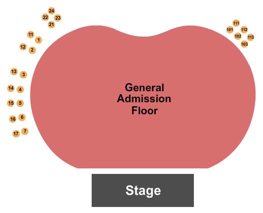 Hollywood Palladium Seating Chart