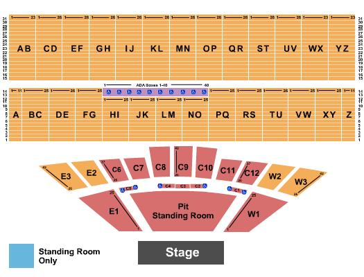 Iowa State Fair Seating Chart