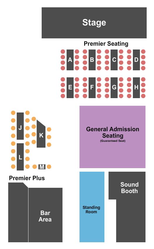 Jammin Java Seating Chart