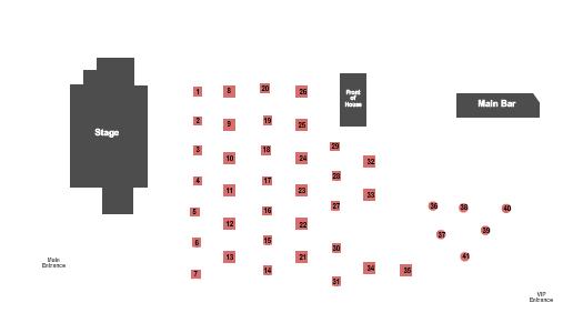 Jannus Live Seating Chart