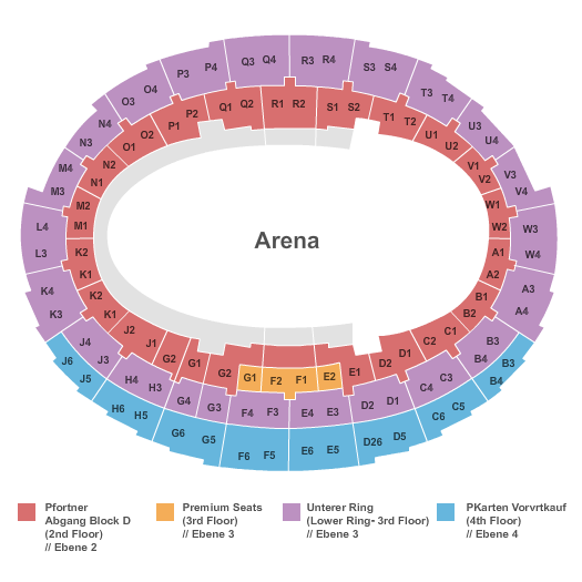 Kleine Olympiahalle Seating Chart