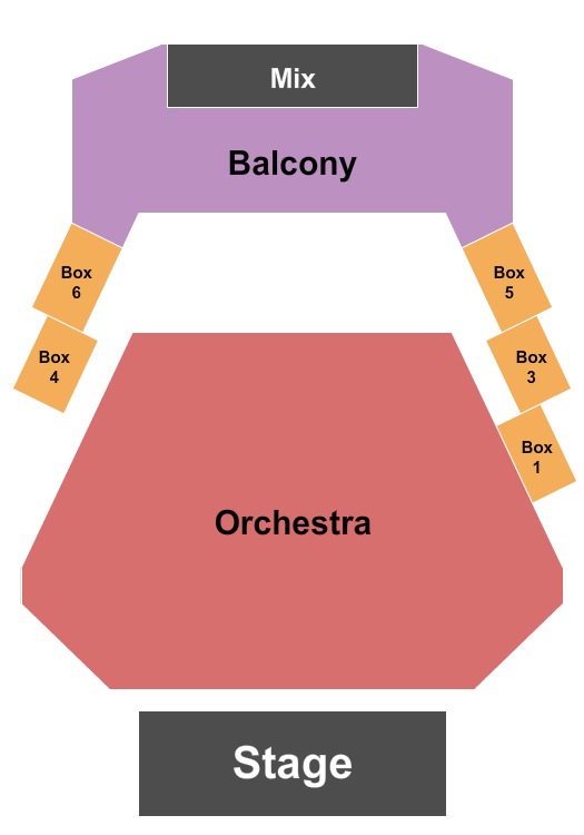 Kupferberg Center for the Arts Seating Chart
